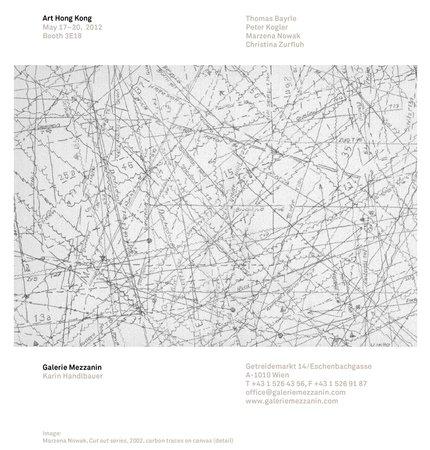Thomas Bayrle, Peter Kogler, Marzena Nowak, Christina Zurfluh: Art HK 12, 17.-20.05.2012 Invitation
