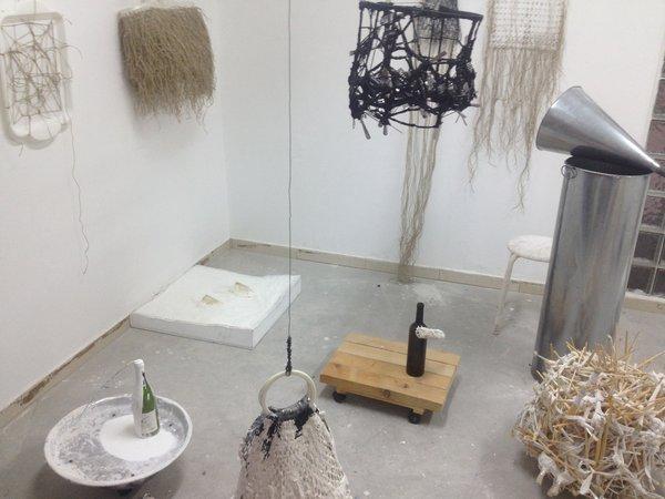 Etti Abergel: Animism - An installation in three stages, 20.01. - 28.02.2014 Invitation
