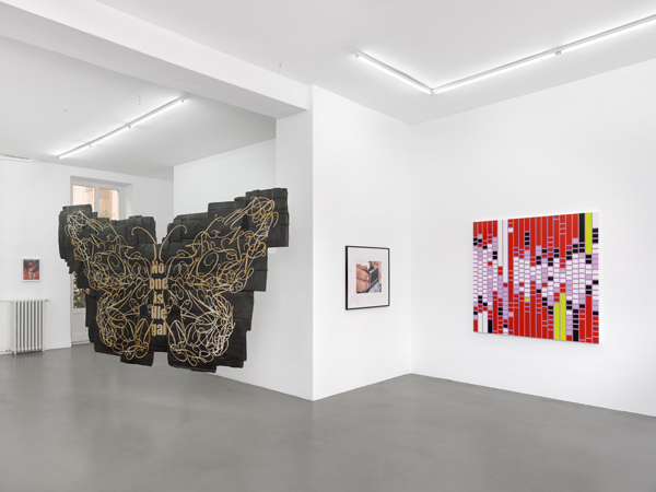 Capitain Petzel at Galerie Mezzanin: Andrea Bowers, Troy Brauntuch, Natalie Czech, Robert Longo, Sarah Morris, Seth Price, Amy Sillman, Monika Sosnowska, Kelley Walker, Christopher Williams, 17.05.–29.06.2019, Image 7