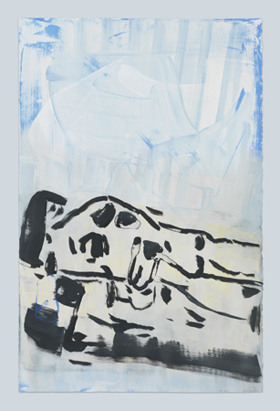 Capitain Petzel at Galerie Mezzanin: Andrea Bowers, Troy Brauntuch, Natalie Czech, Robert Longo, Sarah Morris, Seth Price, Amy Sillman, Monika Sosnowska, Kelley Walker, Christopher Williams, 17.05.–29.06.2019, Image 21