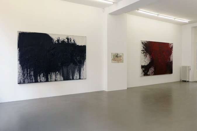 Otto Muehl, Hermann Nitsch: Blut und Pigmente, 18.03.-14.05.2016, Image 2