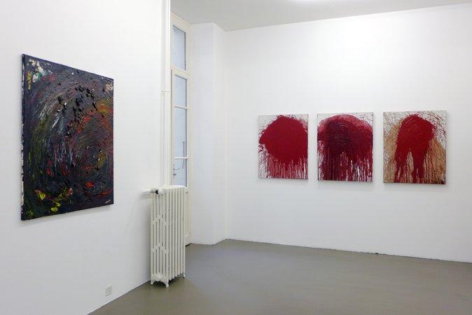 Otto Muehl, Hermann Nitsch: Blut und Pigmente, 18.03.-14.05.2016, Image 8