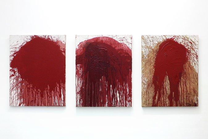 Otto Muehl, Hermann Nitsch: Blut und Pigmente, 18.03.-14.05.2016, Image 9
