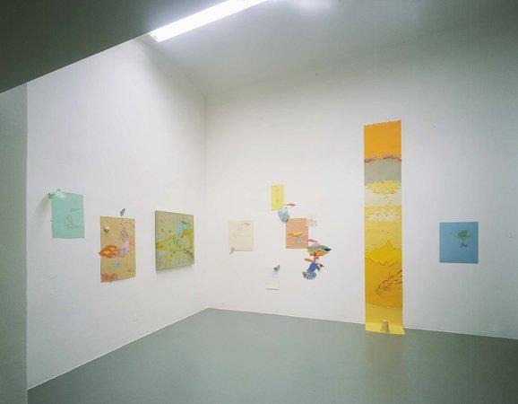 Humberto Duque, Mary Heilmann, David Korty, Marzena Nowak, Isa Schmidlehner, Christian Schmidt-Rasmussen, 07.03. - 17.04.2007, Image 14