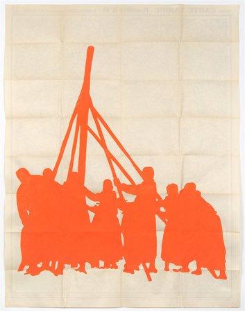 Dove Allouche, Ulla von Brandenburg, Hans-Walter Müller,  Curated by Samuel Gross: L'icosasphère, 29.05–11.07.2015, Image 10