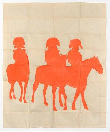 Dove Allouche, Ulla von Brandenburg, Hans-Walter Müller,  Curated by Samuel Gross: L'icosasphère, 29.05–11.07.2015, Image 11