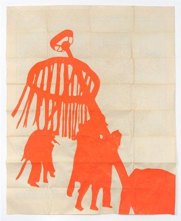 Dove Allouche, Ulla von Brandenburg, Hans-Walter Müller,  Curated by Samuel Gross: L'icosasphère, 29.05–11.07.2015, Image 12