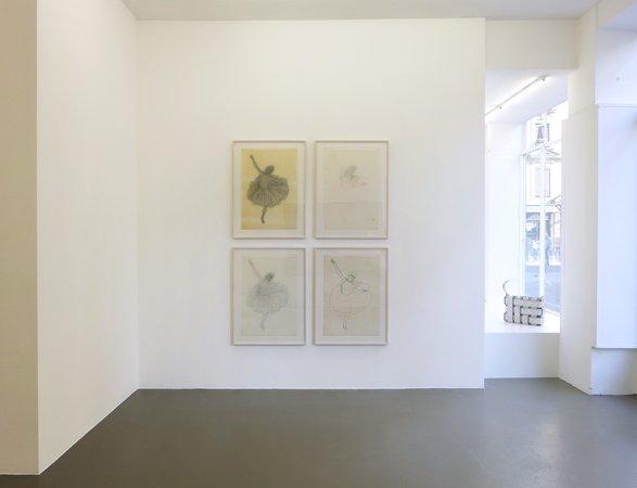 Thomas Bayrle, Gerald Domenig, Christian Kosmas Mayer, Mandla Reuter: Galerie Mezzanin Geneva, 19.09–01.11.2014, Image 4