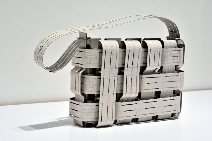 Thomas Bayrle, Gerald Domenig, Christian Kosmas Mayer, Mandla Reuter: Galerie Mezzanin Geneva, 19.09–01.11.2014, Image 2
