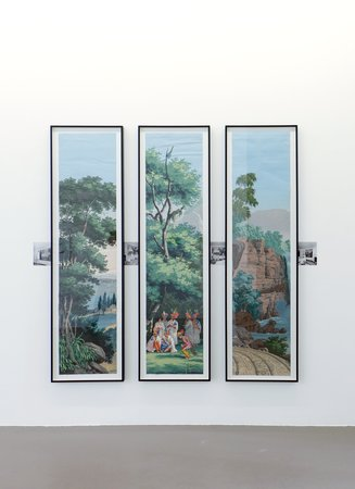 Thomas Bayrle, Gerald Domenig, Christian Kosmas Mayer, Mandla Reuter: Galerie Mezzanin Geneva, 19.09–01.11.2014, Image 16
