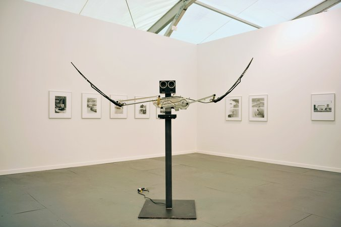 Thomas Bayrle, Gerald Domenig: Frieze Art Fair New York, 10.–13.05.2013, Image 1