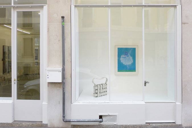 Thomas Bayrle, Gerald Domenig, Christian Kosmas Mayer, Mandla Reuter: Galerie Mezzanin Geneva, 19.09–01.11.2014, Image 1