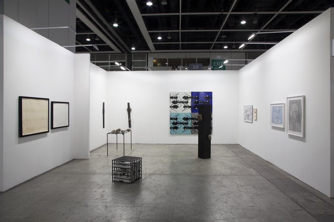 Art Basel Hong Kong 2015  : Thomas Bayrle, Sunah Choi, Peter Kogler, Stephen Prina, Alexander Wolff, 15.03.–17.03.2015, Image 2