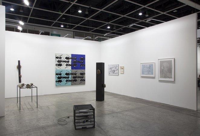Art Basel Hong Kong 2015  : Thomas Bayrle, Sunah Choi, Peter Kogler, Stephen Prina, Alexander Wolff, 15.03.–17.03.2015, Image 1