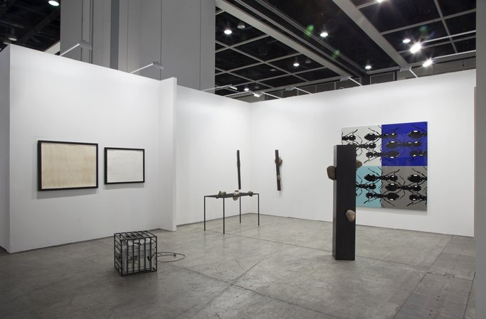 Art Basel Hong Kong 2015  : Thomas Bayrle, Sunah Choi, Peter Kogler, Stephen Prina, Alexander Wolff, 15.03.–17.03.2015, Image 4
