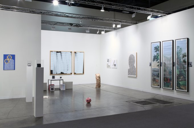 Thomas Bayrle, Peter Kogler, Christian Kosmas Mayer, Marzena Nowak, Stephen Prina, Mandla Reuter, Alexander Wolff: Art Basel Miami Beach, 05.12.–08.12.2013, Image 1