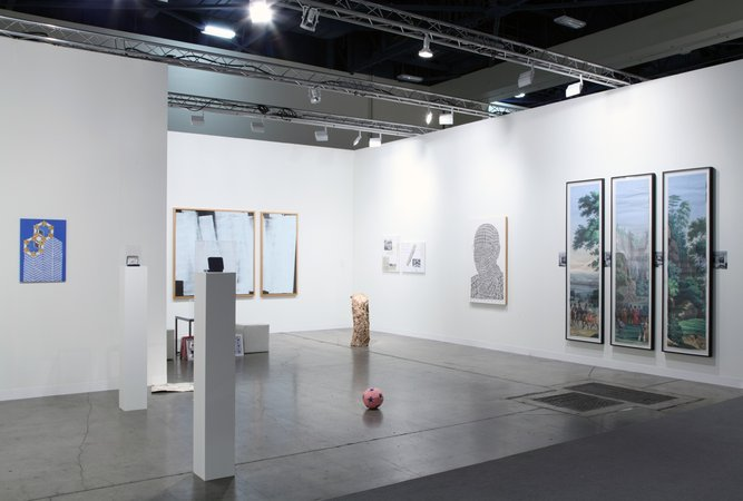 Thomas Bayrle, Peter Kogler, Christian Kosmas Mayer, Marzena Nowak, Stephen Prina, Mandla Reuter, Alexander Wolff: Art Basel Miami Beach, 05.12.–08.12.2013, Image 5