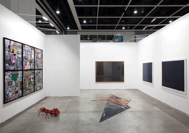 Thomas Bayrle, Gerald Domenig, Peter Kogler, Marzena Nowak, Katrin Plavcak, Mandla Reuter, Christina Zurfluh: Art Basel Hong Kong, 15–18.05.2014, Image 1