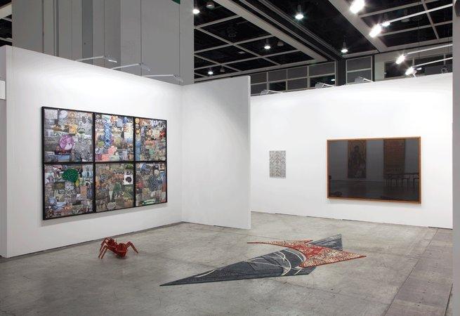 Thomas Bayrle, Gerald Domenig, Peter Kogler, Marzena Nowak, Katrin Plavcak, Mandla Reuter, Christina Zurfluh: Art Basel Hong Kong, 15–18.05.2014, Image 2