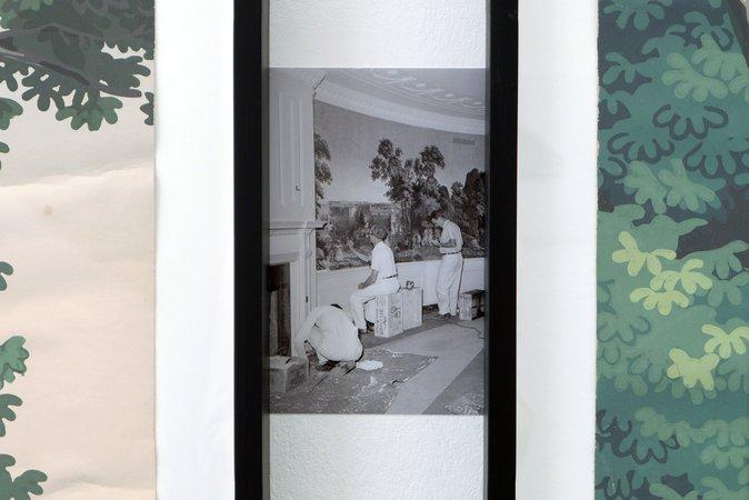 Thomas Bayrle, Gerald Domenig, Christian Kosmas Mayer, Mandla Reuter: Galerie Mezzanin Geneva, 19.09–01.11.2014, Image 17