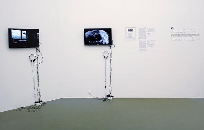 Félix González-Torres, Mina Lunzer, Jan Timme: Ready to Sleep (Arbeitstitel), curated by Sabeth Buchmann, Galerie Mezzanin Vienna, 03.10.–08.11.2014, Image 25