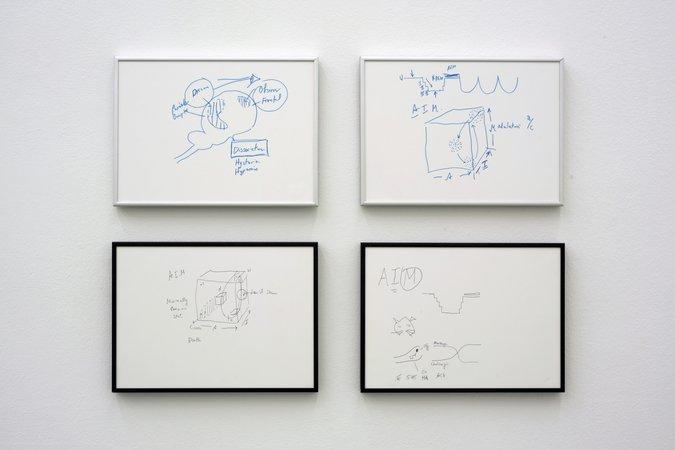 Félix González-Torres, Mina Lunzer, Jan Timme: Ready to Sleep (Arbeitstitel), curated by Sabeth Buchmann, Galerie Mezzanin Vienna, 03.10.–08.11.2014, Image 24