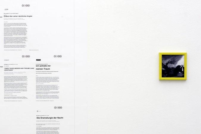 Félix González-Torres, Mina Lunzer, Jan Timme: Ready to Sleep (Arbeitstitel), curated by Sabeth Buchmann, Galerie Mezzanin Vienna, 03.10.–08.11.2014, Image 26