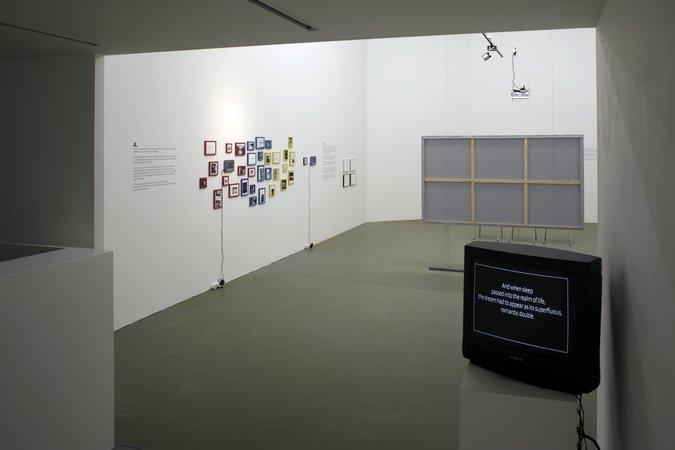 Félix González-Torres, Mina Lunzer, Jan Timme: Ready to Sleep (Arbeitstitel), curated by Sabeth Buchmann, Galerie Mezzanin Vienna, 03.10.–08.11.2014, Image 14