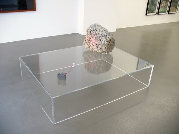 Thomas Bayrle, Gerald Domenig, Christian Kosmas Mayer, Mandla Reuter: Galerie Mezzanin Geneva, 19.09–01.11.2014, Image 7