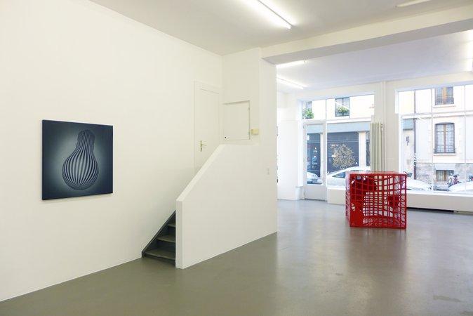 Peter Kogler: Galerie Mezzanin Geneva, 08.11.2014–10.01.2015, Image 13