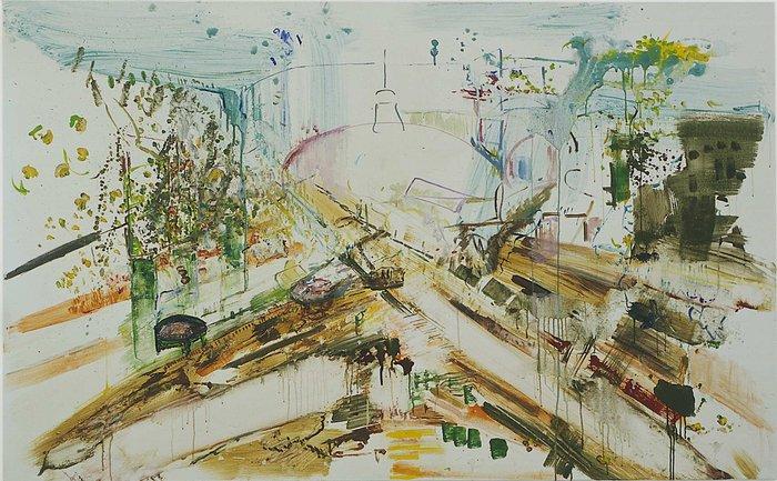 Humberto Duque, Mary Heilmann, David Korty, Marzena Nowak, Isa Schmidlehner, Christian Schmidt-Rasmussen, 07.03. - 17.04.2007, Image 10