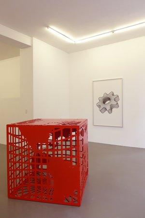 Peter Kogler: Galerie Mezzanin Geneva, 08.11.2014–10.01.2015, Image 11