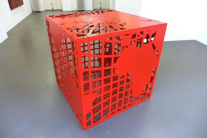 Peter Kogler: Galerie Mezzanin Geneva, 08.11.2014–10.01.2015, Image 5