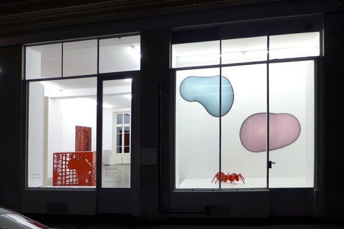 Peter Kogler: Galerie Mezzanin Geneva, 08.11.2014–10.01.2015, Image 17